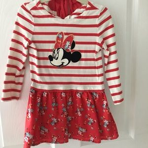babyGap Minnie Dress: red stripes